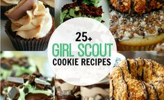 25 recipes using GS cookies!