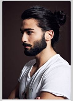 I don't usually pin good lookin men for the heck of it, but may I just say, Oh myohmyoh. That hair and beard combination. I ain't mad at all.