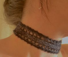 Ravelry: Nameless Choker pattern by Clarice Asquith