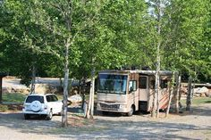 Old Mill Campground at Franklin, North Carolina