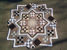Ravelry: Blue Star pattern by Kathy Blakely blue star, crochet afghans, star granni, book, crochet blanket, star pattern, kathi blake, blues, granni afghan