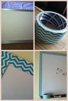 LOVE using decorative duct tape- turn anything ugly into something FUN!