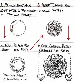 Cabbage Rose pattern   Flickr - Photo Sharing!