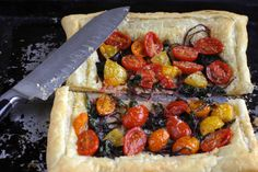 Spicy Beet Green and Fennel Tomato Tart #Recipe #tomatos #delicious #recipes