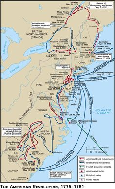 The Battles and Events of the American Revolution