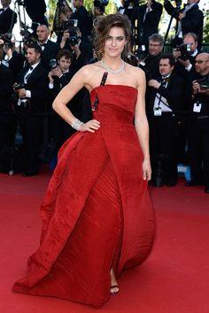 Alyson Le Borges in Armani Privé in Cannes 2013