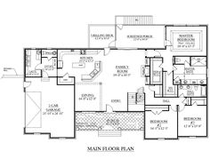 Brentwood B House Plan. Brentwood. Home Plan And House Design Ideas