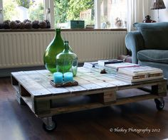 Haikeys Home and Garden: Pallet-tafel DIY