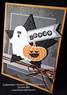 Stampin' Up 2014 Holiday Catalog Fall Fest: Halloween