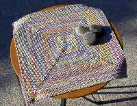 Funky Doily- free crochet pattern