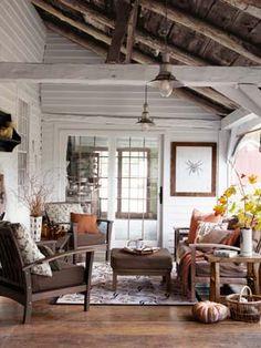 Rustic Enclosed Porch