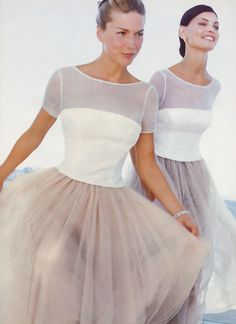 Love these as bridesmaid dresses