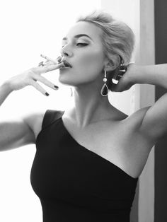 Kate Winslet photographed by Alexi Lubomirski for Harper's Bazaar UK,  April 2013. S)