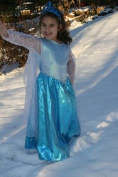 Princess Elsa Frozen inspired by Disney movie