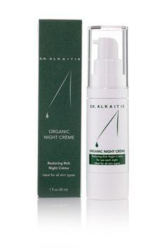 Dr. Alkaitis Organic Night Creme | Organic Skin Care