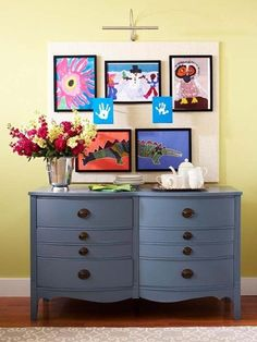 5 Ways to Display Children's Artwork