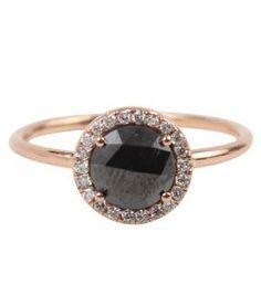 Catbird::shop by category::JEWELRY::Rings::Aura Ring, Black Diamond