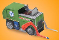 Rocky Paper Vehicle Toy Printable