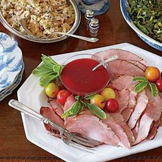 Tried & True Thanksgiving Menu | Celebrate Thanksgiving with James' traditional, down-home menu. | SouthernLiving.com