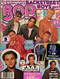 I was obsessed with BSB (not so much NSYNC) had posters covering my walls and saw them live with my Dad for my birthday! I was completely in love with Nick Carter!