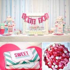 sweet chevron valentines