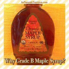 Why Grade B Maple Syrup is best. Plus, a RECIPE for Buttermilk Waffles! Ultra light, fluffy, and delicious! (Gluten free, grain free, paleo, lower-carb, dairy free) By Jenny at www.AuNaturaleNutrition.com