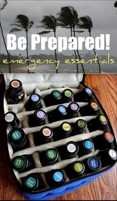Big Fat List of Emergency Essential Oils + Application Charts. Essential oils are just that, essential. There are so many applications for them that every camper or home should have a few stashed away for that essential moment