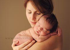 mother, newborn photo