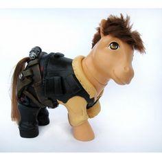 custom my little pony - han solo