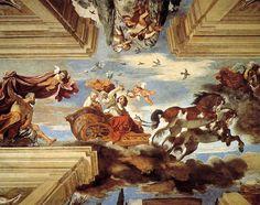 GUERCINO - l'aurora - 1621/1623  Casino di villa Ludovisi - Roma