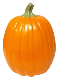 This carvable foam pumpkin is a great start to a fun Halloween or harvest craft project. It's hollow on the inside, so once you've carved your pumpkin, you can add an LED candle or LED tea light for illumination. Your creation will last for years, too.