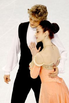 Meryl Davis and Charlie White...they've been skating together since they were 8!