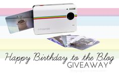 Happy birthday to the blog GIVEAWAY!