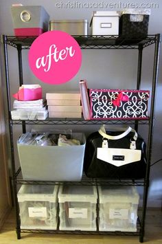 Home Office- Organized!!  #TRINITYproducts #spon