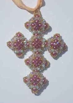 Charlcie's Cross by JuellesDesigns on Etsy