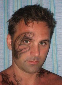 Unique Tattoo Ideas On Faces ~ http://tattooeve.com/having-unique-tattoo-ideas/ Tattoo Ideas