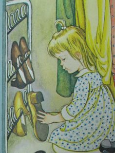 Where Did The Baby Go Vintage Little Golden Book by TheVintageRead