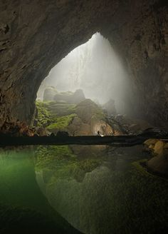 I've always wanted to go caving, I think it's one of the scariest things you can do.