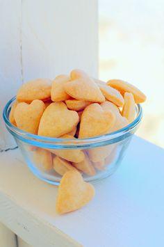 Cheddar Crackers (Gluten, egg, soy, nut, corn free)