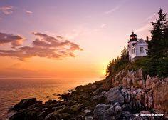 Bass Harbor Lighthouse..Maine