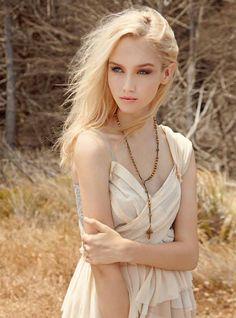 Fair skinned blond
