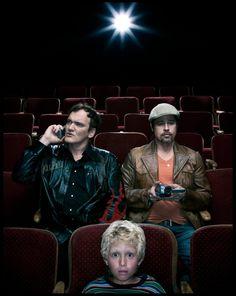 Brad Pitt and Quentin Tarantino   by Dan Winters