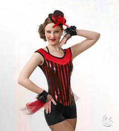 Curtain Call Costumes® - Vaudeville Latin/spanish inspired tap or jazz dance costume