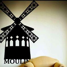 Windmill tattoo