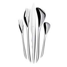 Zaha Hadid flatware.  She's such a great designer!