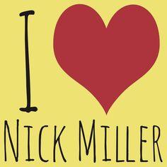 I Love Nick Miller T-Shirt #newgirl