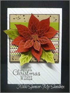 Stampin' Up! stamp set Joyful Christmas