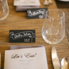 Chalkboard Themed Escort Cards // Laura Ivanova Photography //  Decorations: Jedediah Hawkins Inn // http://www.theknot.com/weddings/album/a-vintage-outdoor-wedding-in-jamesport-ny-133673