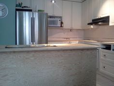 during counter install