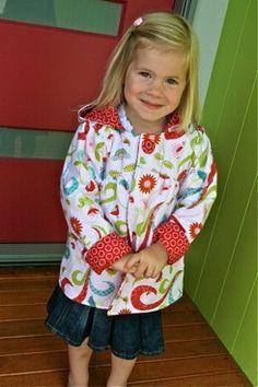 reversible jacket - free sewing pattern